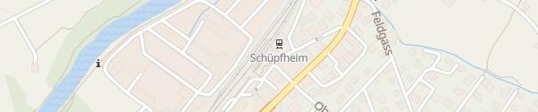 Karte Bahnhof Schüpfheim