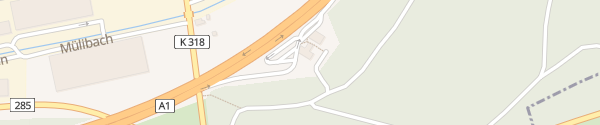 Karte evpass Kölliken Süd Kölliken