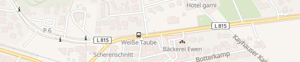 Karte Oldenburger Straße Bad Zwischenahn