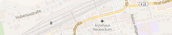 Karte P+R Parkplatz Neubeckum
