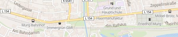 Karte Rathaus Murg