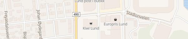 Karte Kiwi Markt Kristiansand