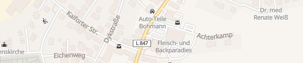 Karte Gemeinde Garrel