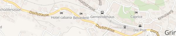 Karte Hotel Belvedere Grindelwald