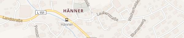 Karte Murg-Hänner Murg