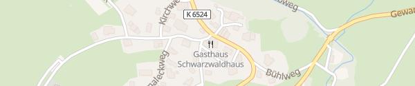 Karte Schwarzwaldhaus Bernau im Schwarzwald