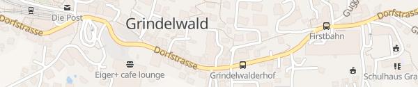 Karte Eiger Selfness Hotel Grindelwald
