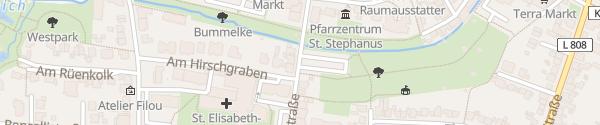Karte Elisabethstraße Beckum