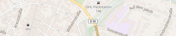 Karte Sternstraße Beckum
