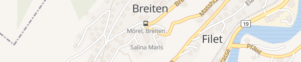 Karte Badehotel Salina Maris Mörel