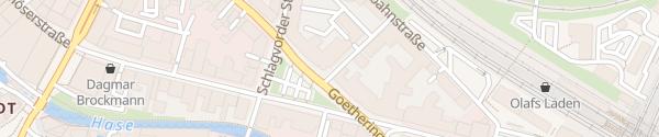 Karte E-Bike Ladestation Osnabrück