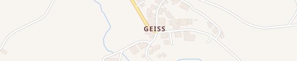 Karte Landgasthaus Ochsen Geiss