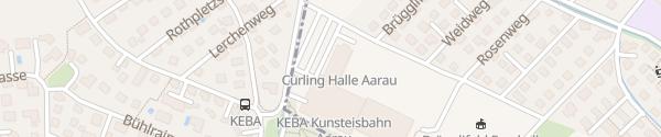 Karte KEBA Kunsteisbahn Aarau
