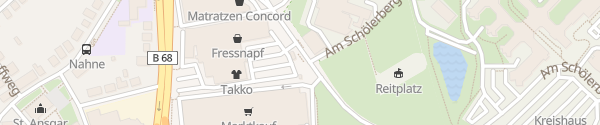 Karte Nahnerfeld Osnabrück