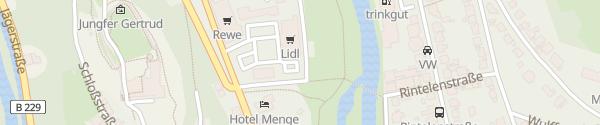 Karte Lidl Arnsberg