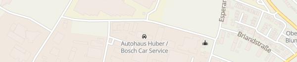 Karte Autohaus Huber Oberkirch
