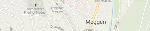 Karte Bahnhof Lennestadt