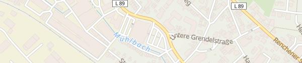 Karte E-Bike Ladesäule Decker´s Frische Center Oberkirch