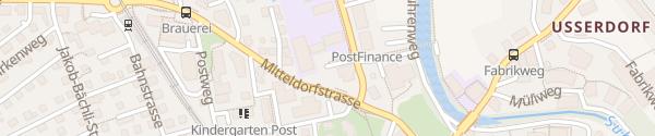 Karte Gemeindehaus Buchs