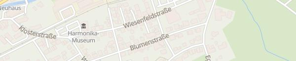 Karte Hotel Klosterbräustuben Zell am Harmersbach