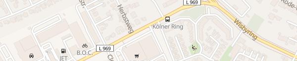 Karte Rewe Center Stolper Soest