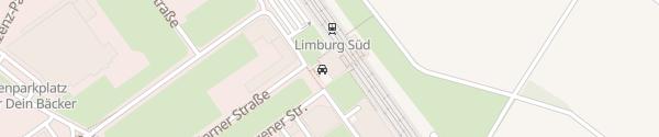 Karte ICE-Parkhaus Limburg