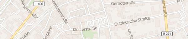 Karte Parkplatz Ostdeutsche Straße Alzey