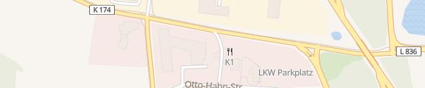 Karte K1 Tankstelle Knoop Emstek
