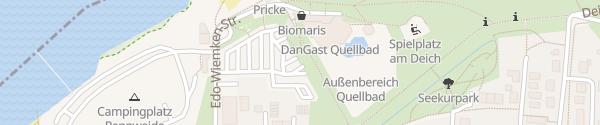 Karte Quellbad Dangast Varel