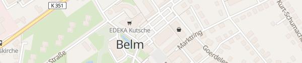 Karte innogy Ladesäule Belm