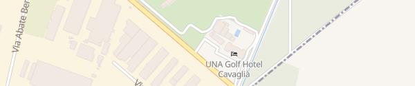 Karte Destination Charger Golf Club Cavaglià