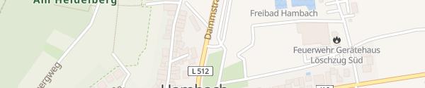 Karte Parkplatz Dammstraße Neustadt