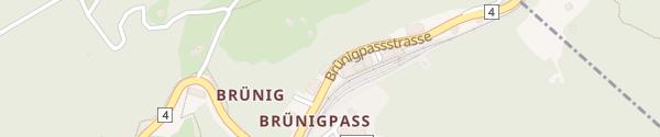 Karte Brünig Lodge Brünig