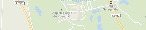 Karte Hofgut Georgenthal Hohenstein
