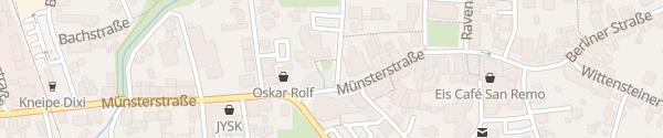 Karte Stadtverwaltung Versmold