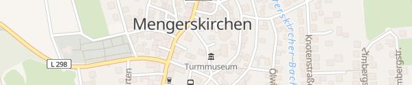 Karte Gemeindeverwaltung / Schloss Mengerskirchen Mengerskirchen