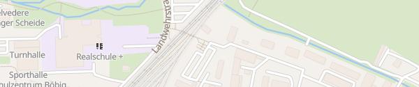Karte P+R Parkplatz Böbig Neustadt an der Weinstraße
