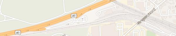 Karte Fastned Rastplatz Richtung Baden Lenzburg