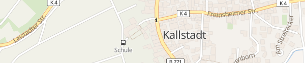Karte Cleo's Hotel & Café Kallstadt