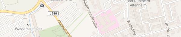 Karte Evangelisches Krankenhaus Bad Dürkheim