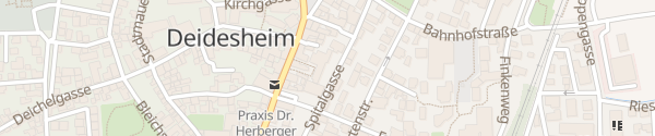 Karte Hotel Ritter-von-Böhl Deidesheim