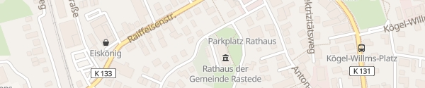 Karte Rathaus Rastede