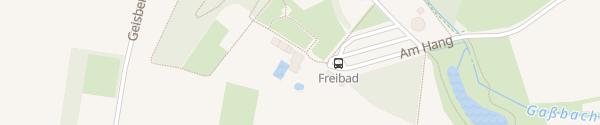 Karte Freibad Gaßbachtal Oelde-Stromberg