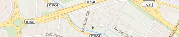 Karte Wörthstraße Baden-Baden