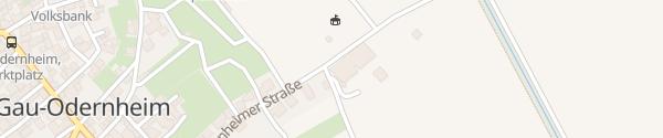 Karte 1. Stromtankstelle Gau-Odernheim