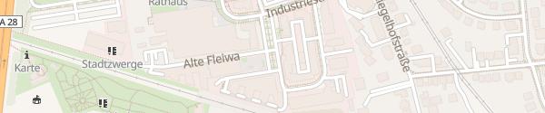 Karte Alte Fleiwa Oldenburg