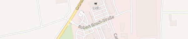 Karte Gewerbegebiet Am Bockenheim Weg Monsheim