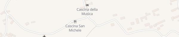 Karte Cascina San Michele Costigliole d'Asti