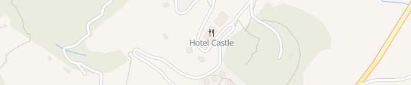 Karte Hotel Castle Blitzungen