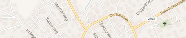 Karte Destination Charger Gasthof zum Ochsen Lupfig